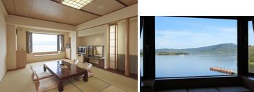 湖側和室10畳