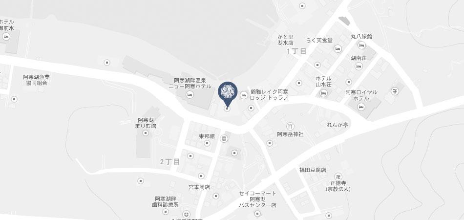 鄙の座地図