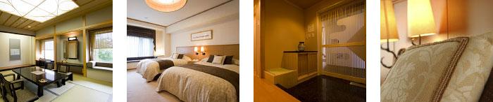 和室・洋室・入口・ベッド