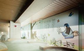 鶴雅ウイングスの大浴場